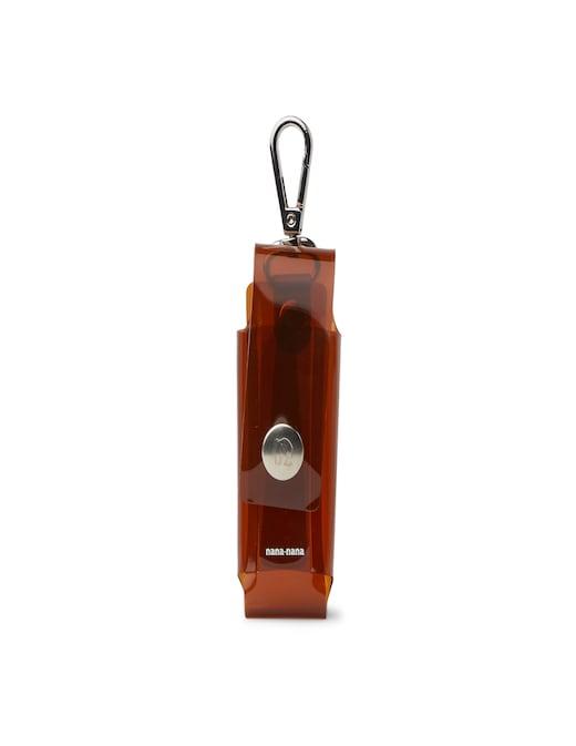 rinascente Nana Nana PVC neck pouch lighters case