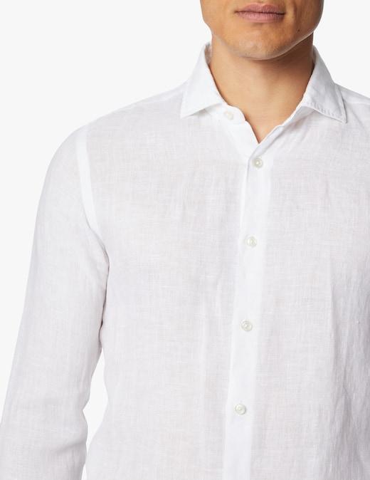 rinascente Xacus Tinto capo linen shirt