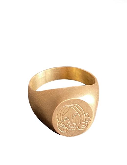 rinascente manuba Olivia pinky ring
