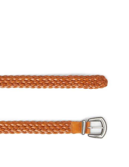 rinascente Orciani Cintura media Masculine con borchie turchesi