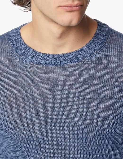 rinascente Rinascente Collection Maglia girocollo rasato in lino
