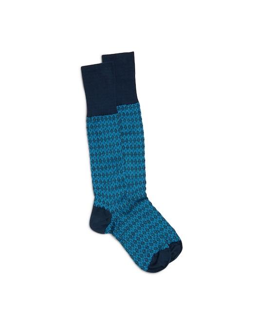 rinascente Church's All over logo micro argyle socks