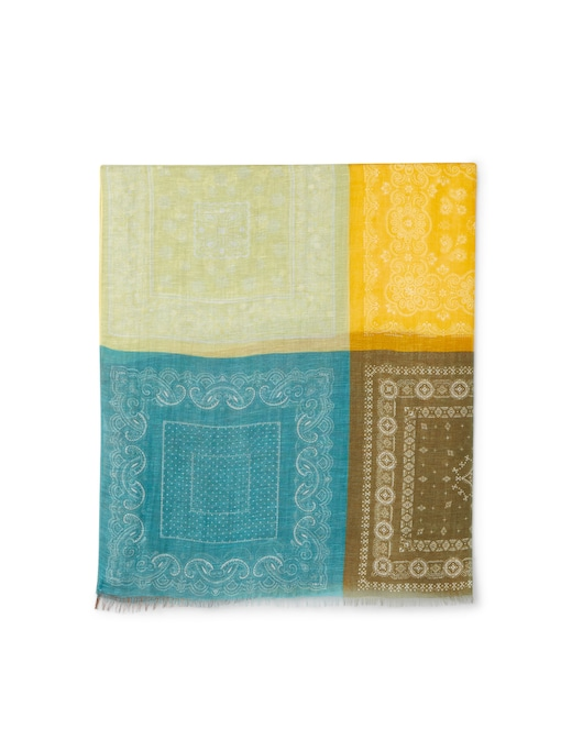 rinascente Altea Sciarpa lino,seta 90x180 bandana