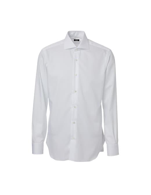 rinascente Barba Napoli Light twill shirt