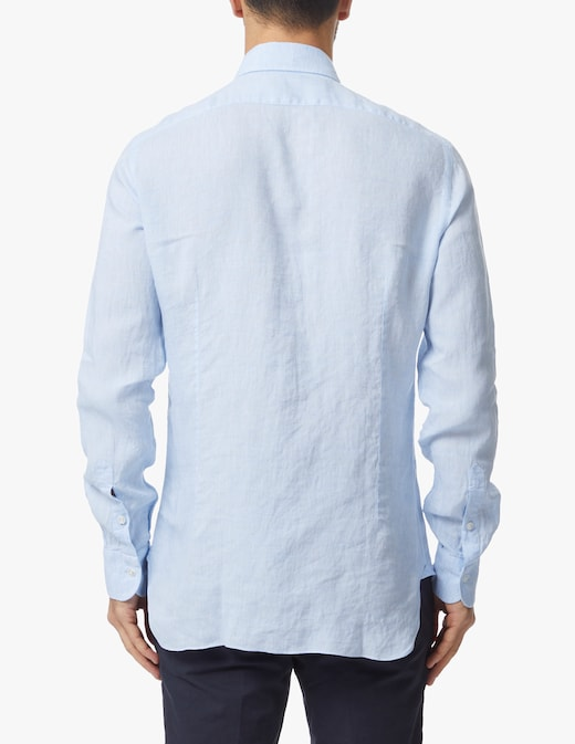 rinascente Barba Napoli Culto linen shirt