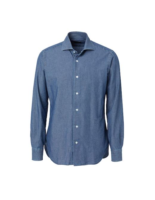 rinascente Barba Napoli Denim shirt