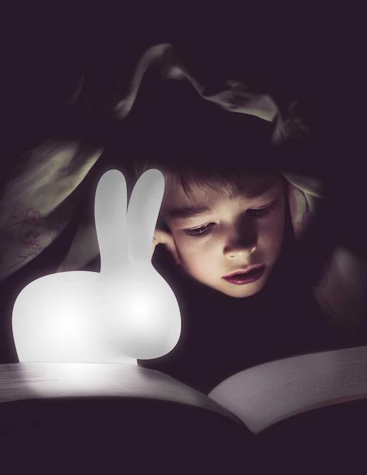rinascente Qeeboo Lampada ricaricabile Rabbit XS