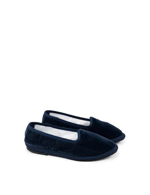 rinascente Papusse Notte velvet slippers