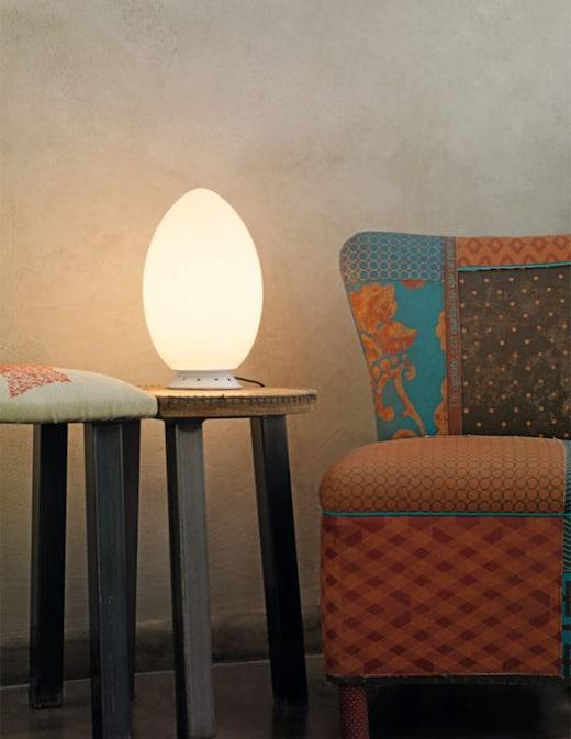 rinascente Fontana Arte  Uovo table lamp small