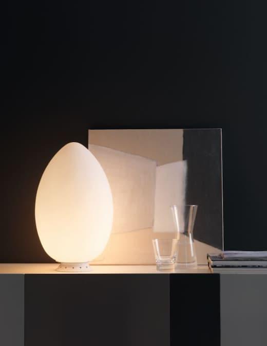 rinascente Fontana Arte  Uovo lampada da tavolo media