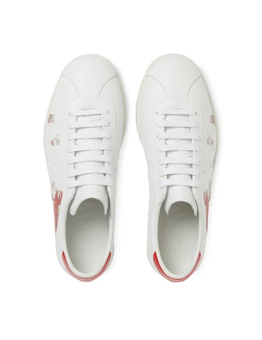 rinascente Lanvin Sneakers Glen in pelle