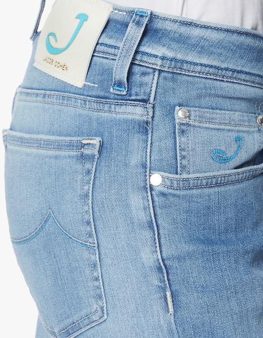 rinascente Jacob Cohen J688 western pockets regular fit mid rise
