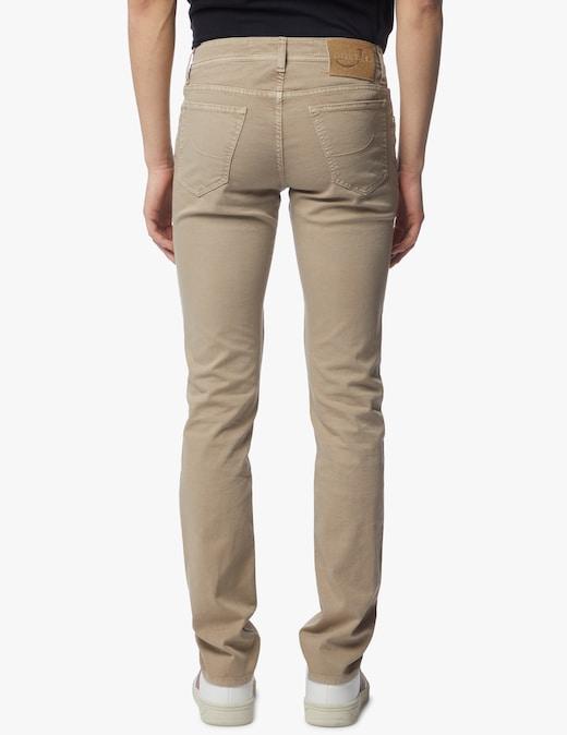 rinascente Jacob Cohen Piquet canvas slim fit pants
