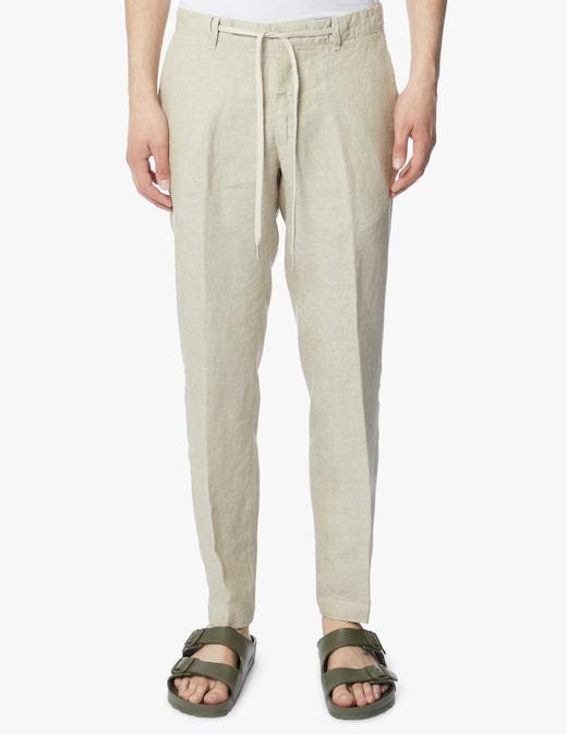 rinascente Cruna Pantalone bowery active in lino