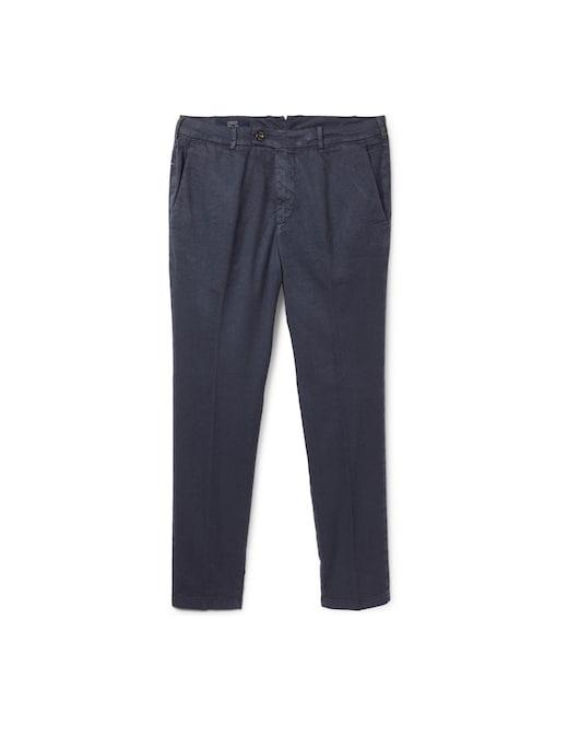 rinascente Cruna Pantalone marais in lino cotone