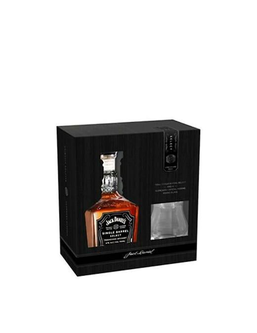 rinascente Jack Daniel'S Single Barrel 700ml Con Bicchieri