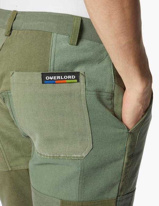 rinascente Overlord Pantaloni corti patchwork militare