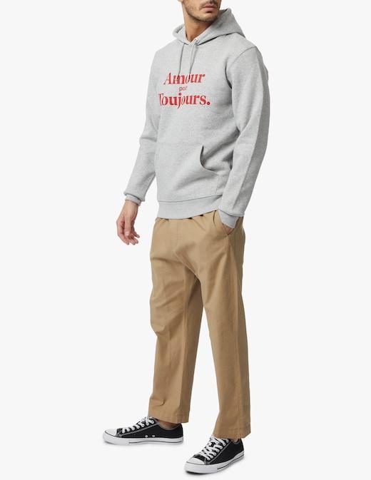 rinascente Les Petits Basics Oversized amour pour toujours hoodie