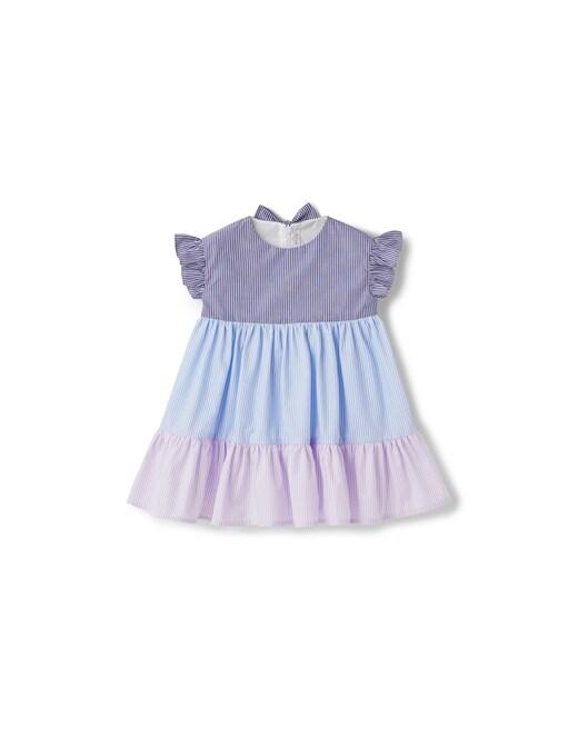 rinascente Il Gufo Multicolor short sleeve dress