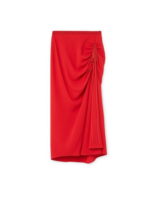 rinascente N°21 Midi skirt with elasticated waist