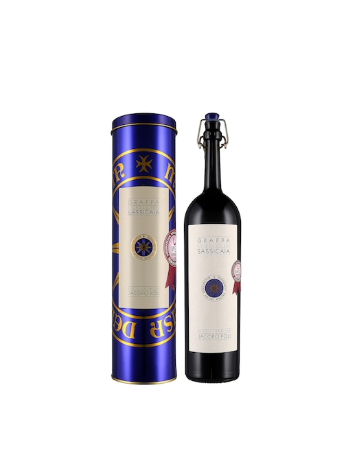 """rinascente Poli Distillerie Grappa """"Grappa di Sassicaia"""" 50 cl"""