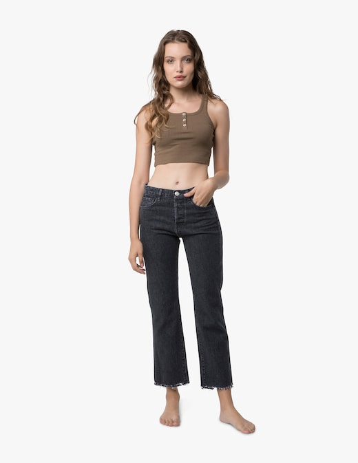 rinascente 3X1 Jeans crop a gamba dritta Austin