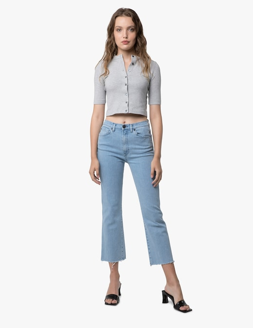 rinascente 3X1 Emma cropped jeans