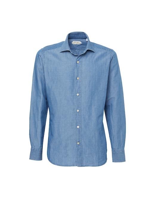rinascente Guglielminotti Camicia in lino e cotone