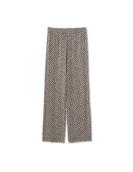 rinascente Rosso35 Printed jersey wide-leg trousers
