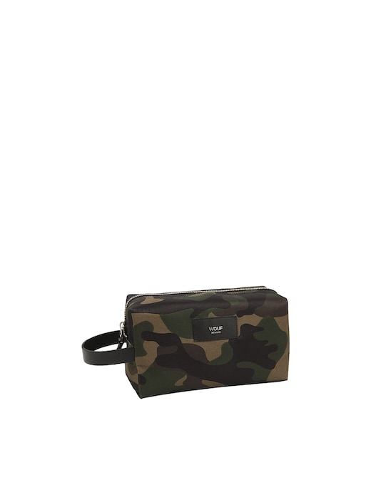 rinascente Wouf Camouflage Travel Case