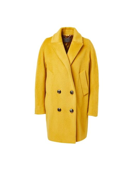 rinascente Marella Cappotto doppiopetto in misto lana Rouen