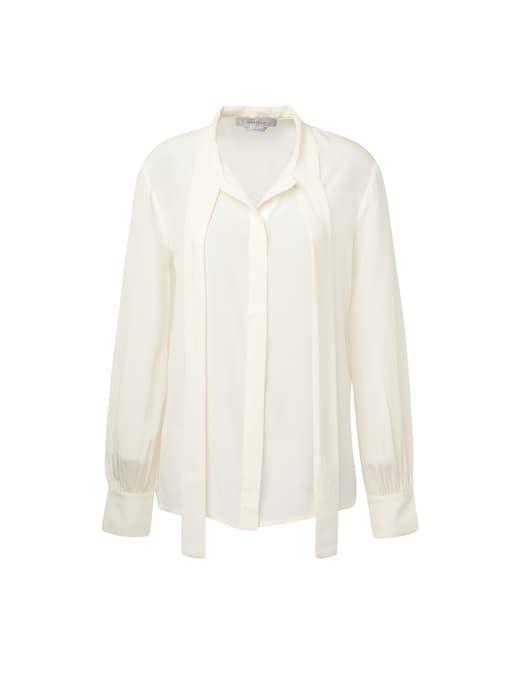 rinascente Marella Silk shirt with bow Diletta