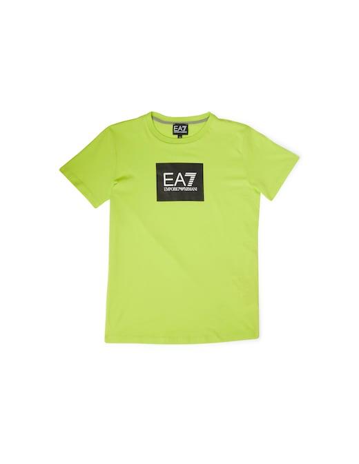 rinascente EA7 Maglietta manica corta logo quadrato