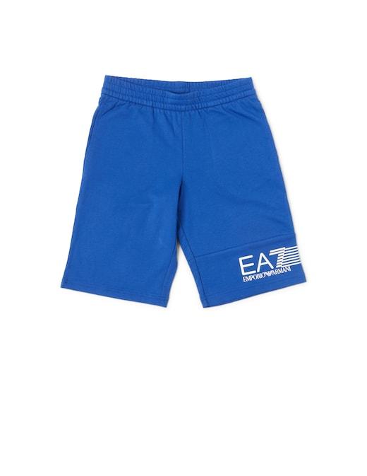 rinascente EA7 Pantaloni corti logo strisciato