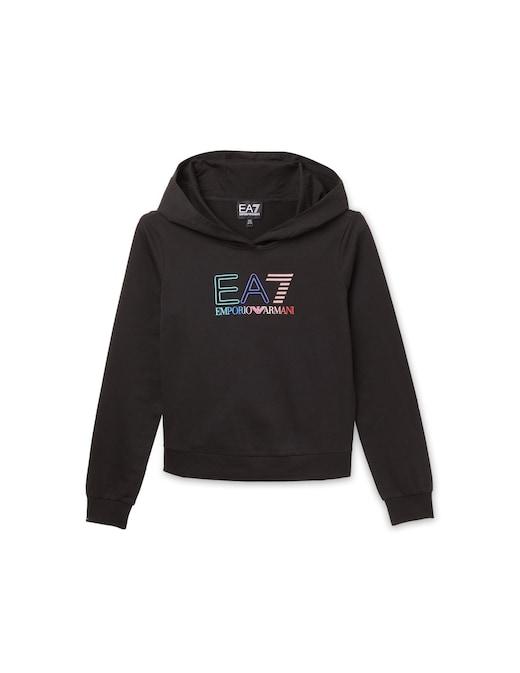 rinascente EA7 Felpa con cappuccio e logo arcobaleno