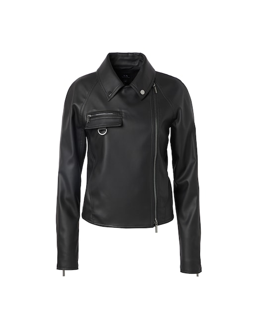 rinascente Armani Exchange Giacca in simil pelle
