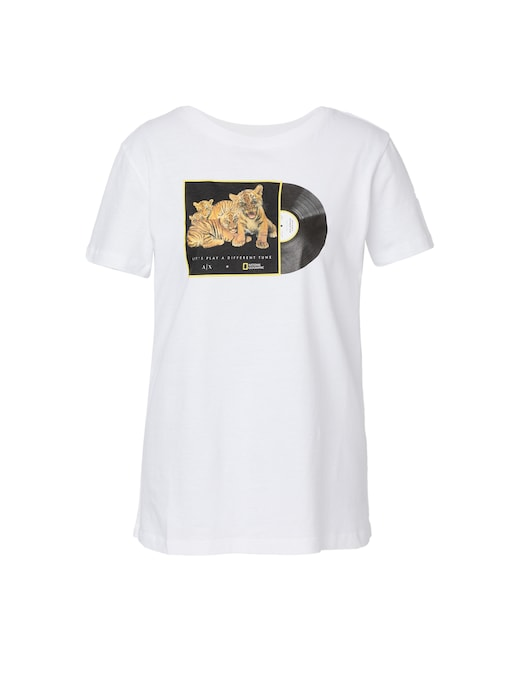 rinascente Armani Exchange T-shirt in cotone National Geographic