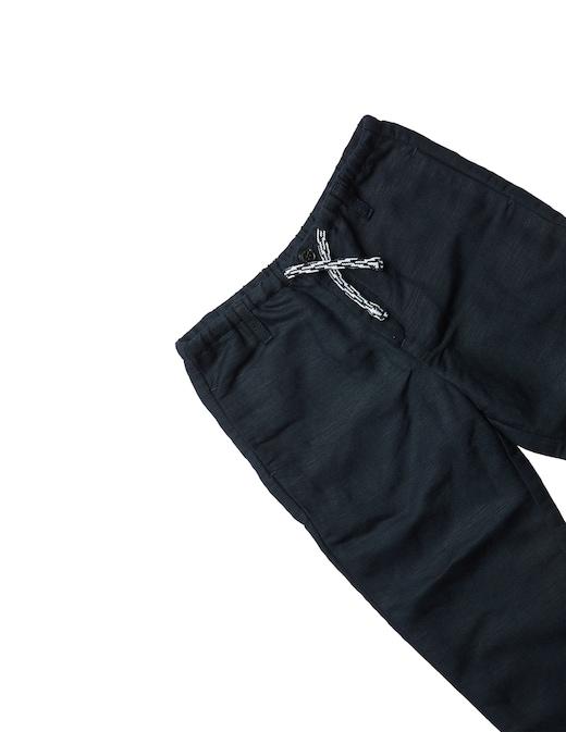 rinascente Emporio Armani Pantaloni in lino con coulisse