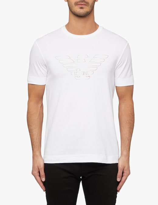 rinascente Emporio Armani Made in italy jersey stretch t-shirt