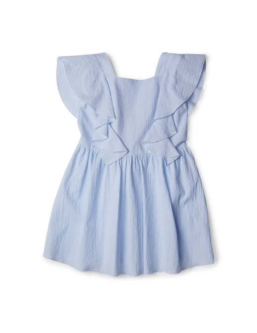 rinascente Emporio Armani Seesucker sleeveless dress