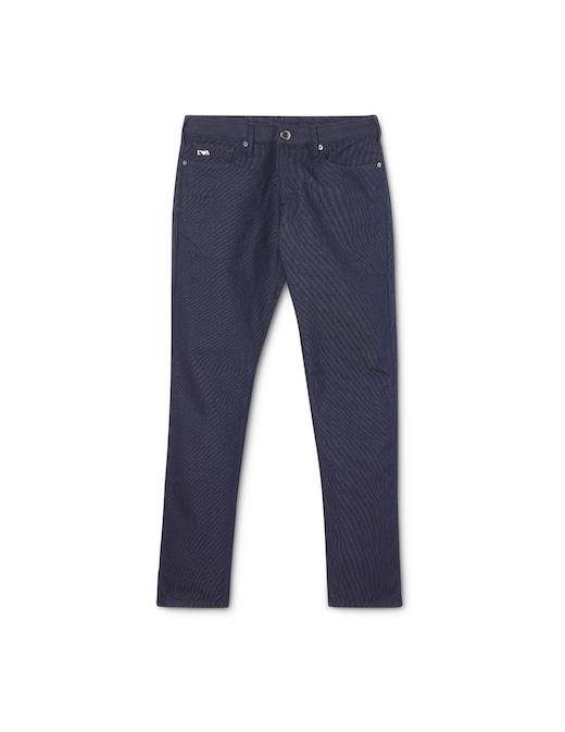 rinascente Emporio Armani Slim dotted jeans