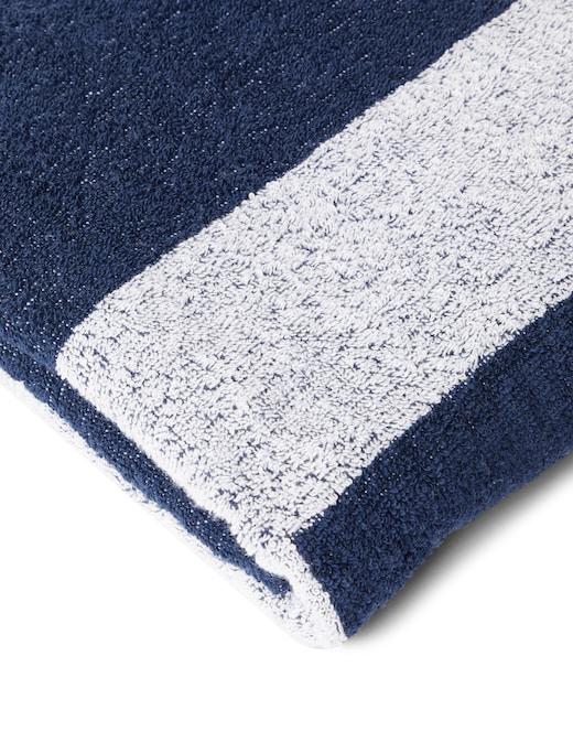 rinascente Emporio Armani Logo beach towel 170x100