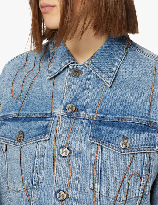 rinascente M Missoni Giacca di jeans over