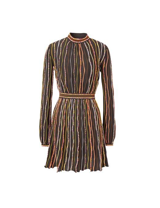 rinascente M Missoni Long sleeved mini dress