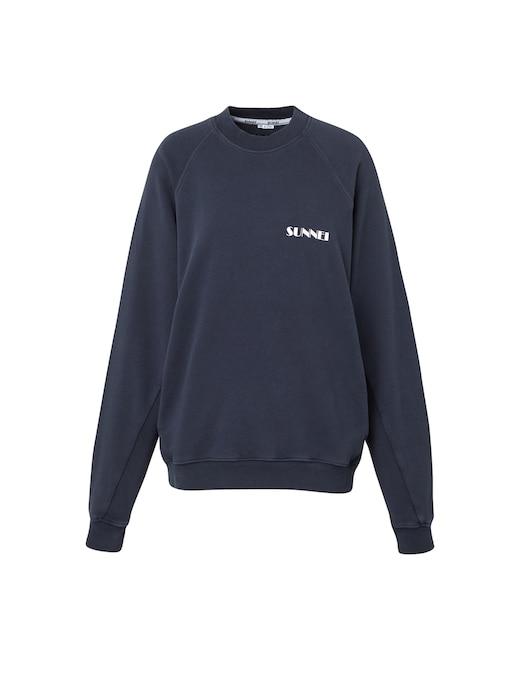 rinascente Sunnei Cotton sweater with small logo