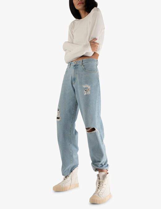 rinascente Icon Denim Miley wide leg jeans