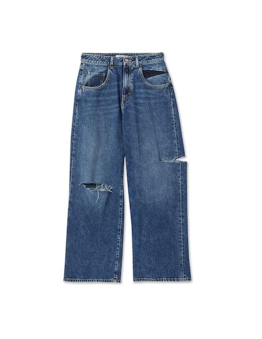 rinascente Icon Denim Poppy X wide leg jeans