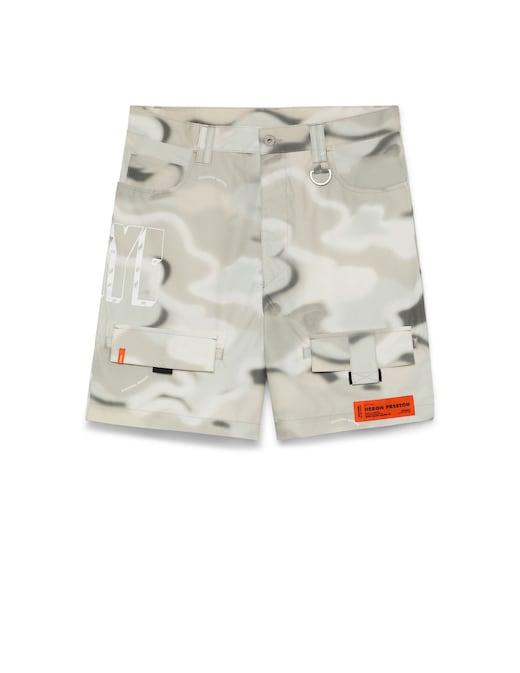 rinascente Heron Preston Cargo Shorts Camo