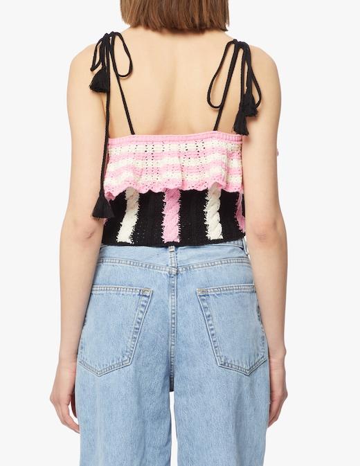rinascente MSGM Top crochet