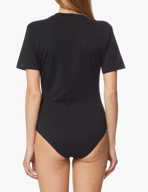 rinascente MSGM Body con logo in cotone